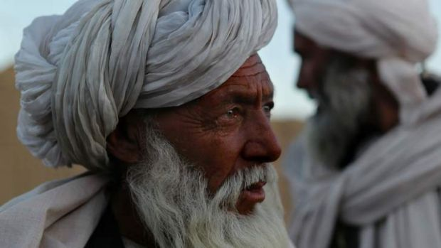 Tribal leader Malak Saqzai from Mirabad was mistakenly arrested with his sons and 40 local men by Australian forces.