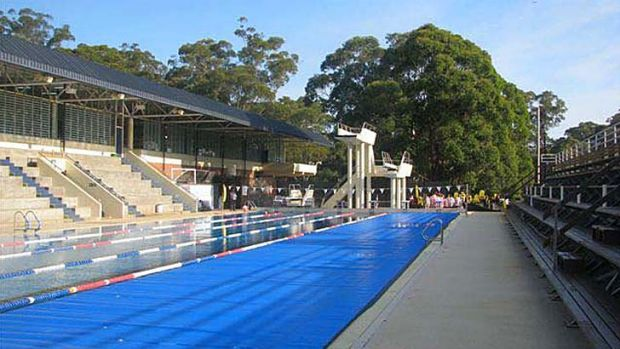 To go: The existing swimming pool at Pymble Ladies' College will be demonlished and replaced by a new indoor centre.