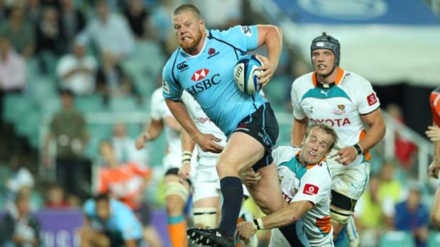 Force to be reckoned with: Waratahs prop Paddy Ryan.