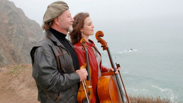 Top class Scottish fiddlers Alasdair Fraser & Natalie Haas are in town this week for two performances.