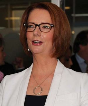 Crackdown: Julia Gillard.