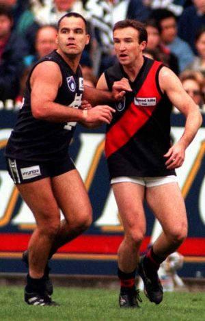 Dual Brownlow medallist Greg Williams (left) reopened the debate on chronic traumatic encephalopathy.