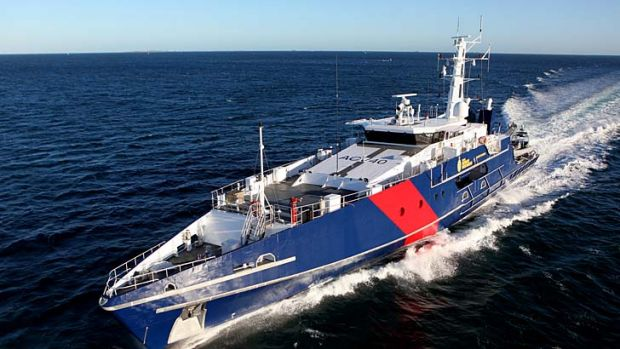 Breach: The Cape Class Patrol Boat, which was the subject of the tender.
