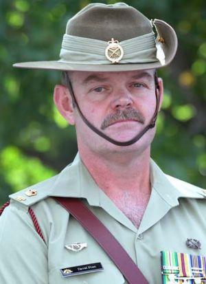 Major David Pratt after the hearing.