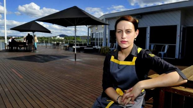 NO SETTLEMENT: Payment still outstanding for damage to the Deck (manager Louise Robinson pictured).