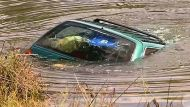 Students rescue woman from sinking car (Video Thumbnail)