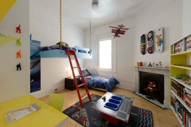Mark and Duncan's kids' bedroom on <i>The Block: All Stars</i>.