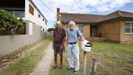 NCH NEWSCol & Ron Payne of Stockton who have lived in the same NSW Housing place for 68 years and are now being moved ...