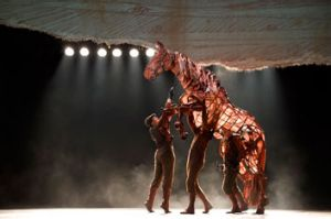 War Horse is on at Sydney's Lyric Theatre.