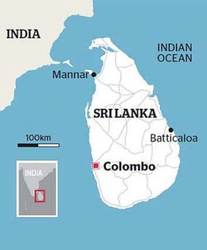 Colombo: Sri Lanka.