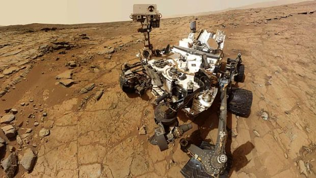 Curiosity: Back online after a glitch.