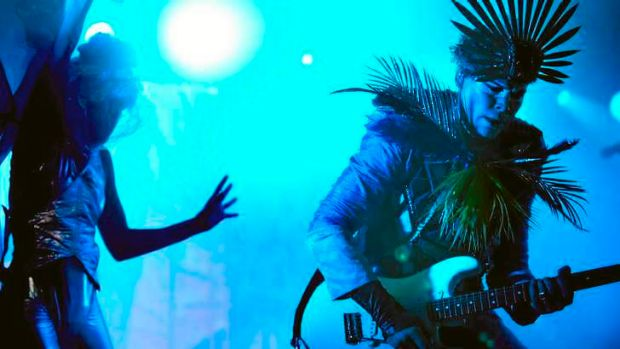Solar power: Empire of the Sun are a part of the eclectic Vivid Live line-up.
