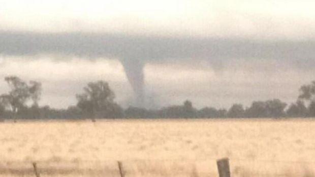 Tornado ... A picture taken at Mulwala.