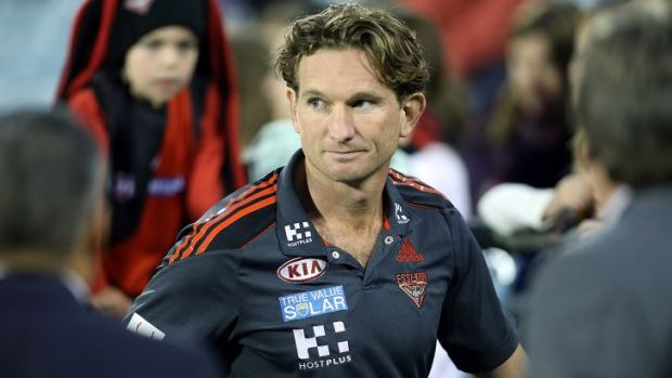James Hird: police reject claims he was investigated.