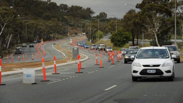Motorists face more frustration on Parkes Way.