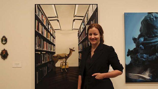 Proud: Victoria Reichelt with winner <em>After (books)</em>.