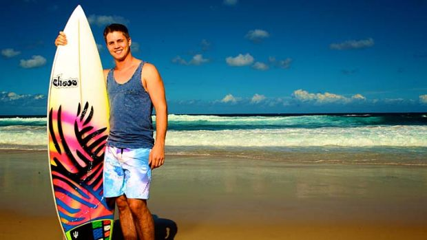 Triple threat: Johnny Ruffo joins the cast of <em>Home and Away</em>.
