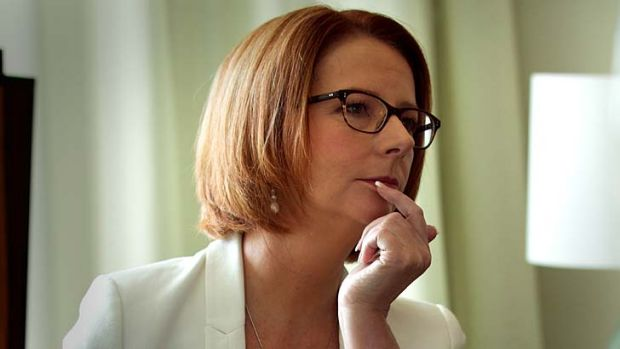 Won't speculate ... Prime Minister Julia Gillard.