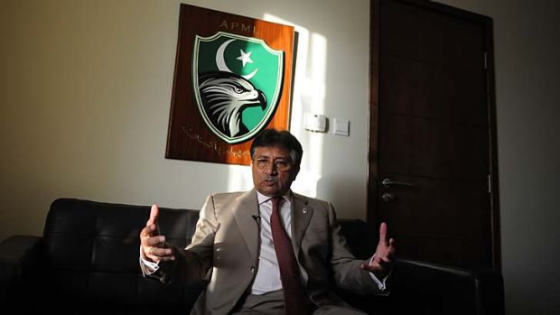 To return home: Pervez Musharraf.