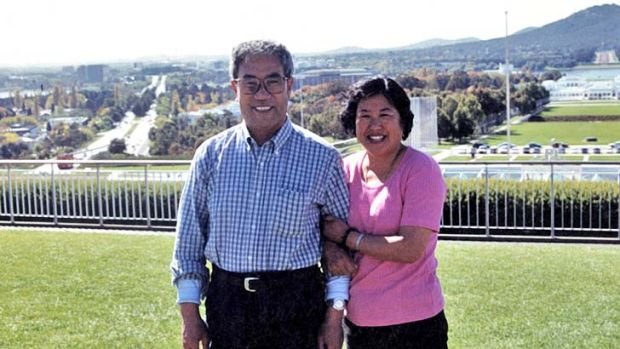 Together: Han Chao and Tian Shuqing planned a new life in Australia.