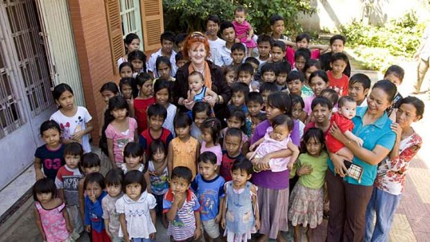 The Love In Action orphanage founded by Australian Ruth Golder and raided by police in Phnom Penh after reports of abuse.