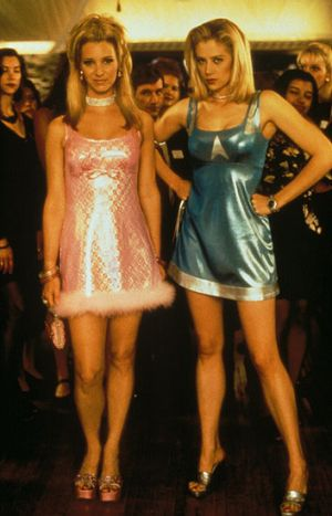 <i>Romy and Michelle's High School Reunion</i>. They would never have had as much fun in the Facebook era.