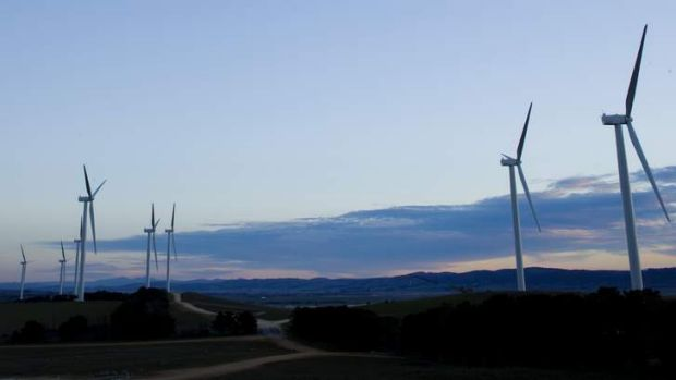 Land-owners are worried that wind farms will reduce the value of their land.