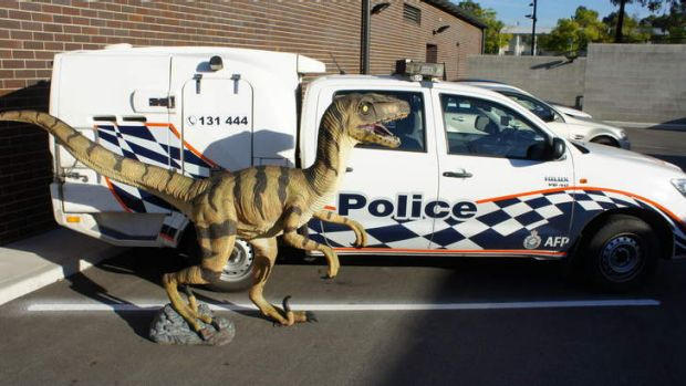Police have recovered the dinosaur stolen from a Canberra museum