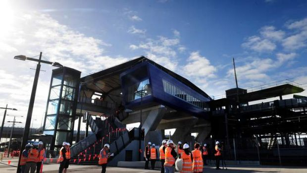 Opening soon ...  Williams Landing Railway Station is the network's latest addition.