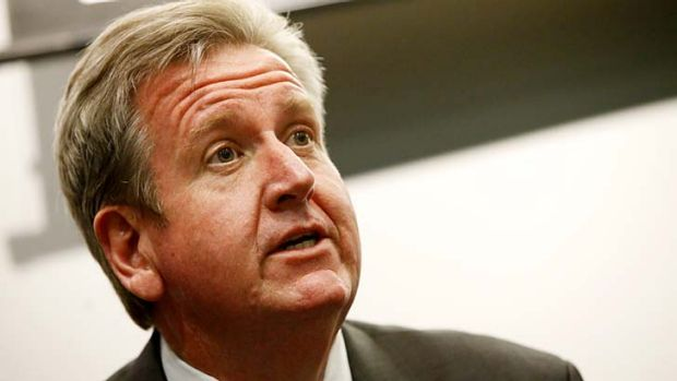 Loosing ground on education: Barry O' Farrell.