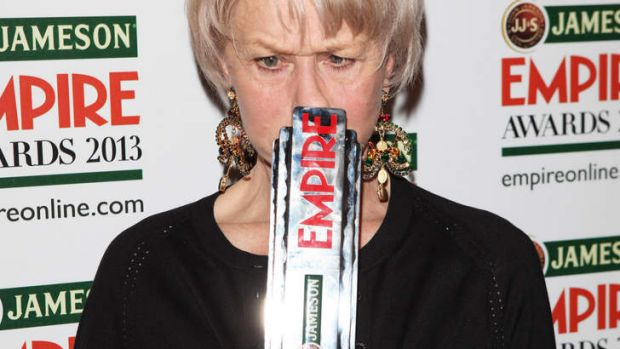Dame Helen Mirren certainly had something to say at the Empire Awards in London.