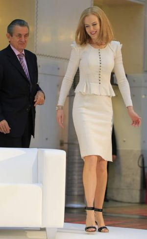 Kidman in Vienna this week.