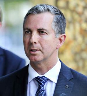 ACT Liberal Leader Jeremy Hanson MLA.