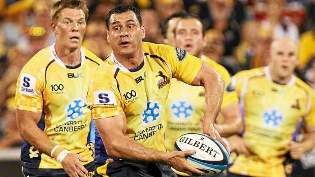 The Brumbies are hoping to extend George Smith's stay.
