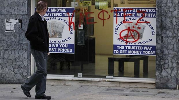 Held to account: Cypriot banks remain closed for two more days amid a fall in confidence in savings security.