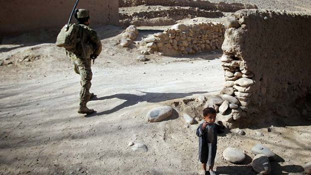Lengthy campaign: Defence Force Chief Hurley said that progress had been made in Uruzgan province.