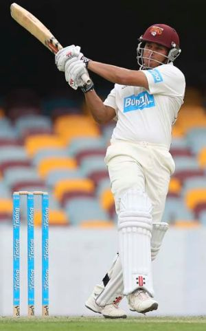 Big hope: Usman Khawaja has eyes for England.