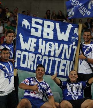 Passion: Bulldogs fans remember.