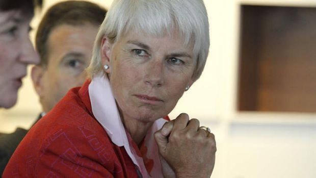 Gail Kelly: wants three more years.
