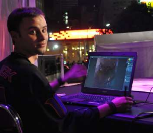 Once just a fan, Luke Mancini is now working his dream job at Blizzard.