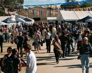 The National Folk Festival, held dear by many musically-inclined Canberrans.
