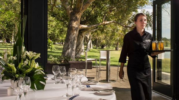 """Matilda Bay Restaurant director Warwick Lavis said he'd """"rather somebody go away and not pay for a meal then go away ..."""