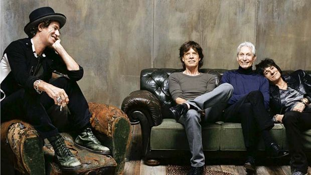Rumoured to include Australia in an upcoming world tour: The Rolling Stones.