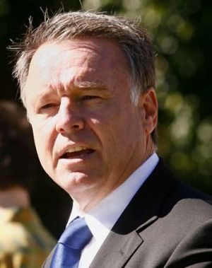 """You can be on a quarter of a million dollars family income a year and you're still struggling"": Joel Fitzgibbon."