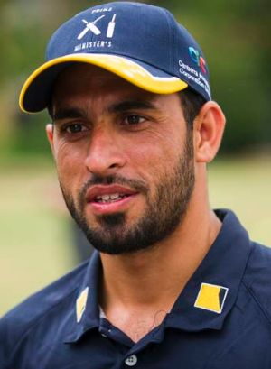 Spinner in waiting: Fawad Ahmed.