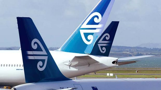 Turbulence over the Tasman: Air New Zealand and Virgin are seeking flight changes.