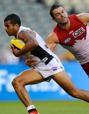 Ahmed Saad, just one of the bright lights for the Saints in 2012.