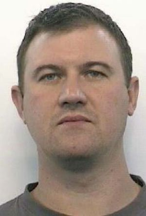 Manhunt: NSW Police are searching for one of their own, civilian armourer Alan James Cumberland.