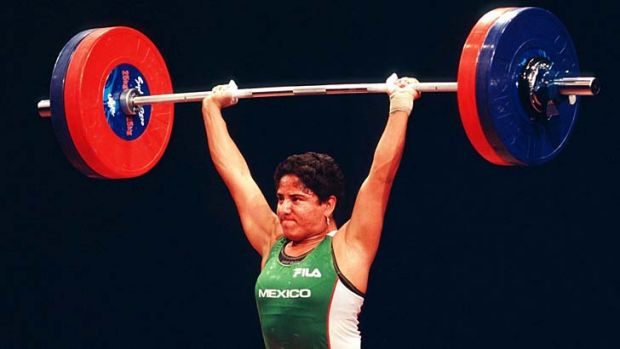 Soraya Jimenez won weightlifting gold at the Sydney Olympics.