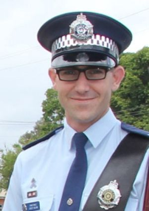 Constable Casey Blain, killed on his first day of relief duty at Georgetown, in far north Queensland.
